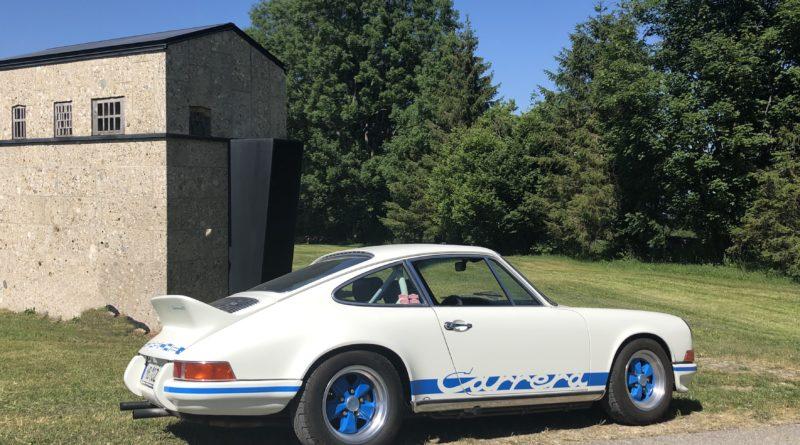 Mit dem 911 RS auf der Suche nach der Designer-Kapelle St. Jakob