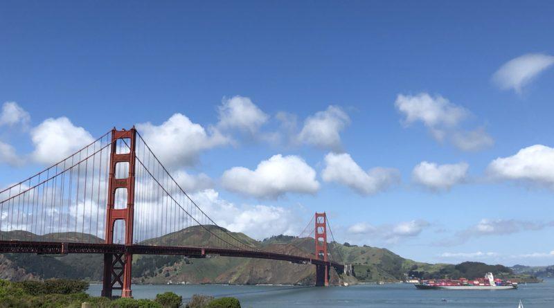 Von Waldhäusern und Teslas im Hippiedesign – Über die Golden Gate Bridge nach Mill Valley.